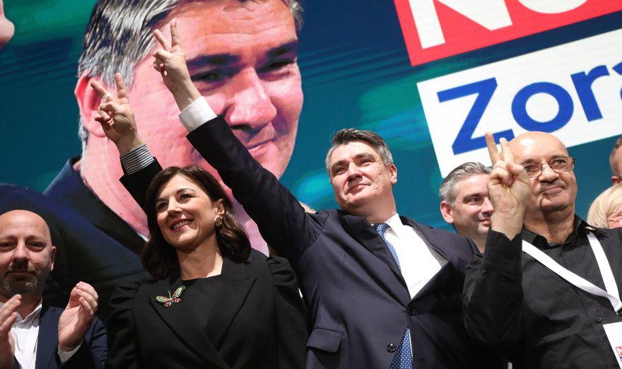 ДАЛИ ЌЕ ИМА СИЛА Милановиќ треба да се надева дека неговите бирачи ќе останат да гласаат во вториот круг а дека оние на Грабр се разочарани